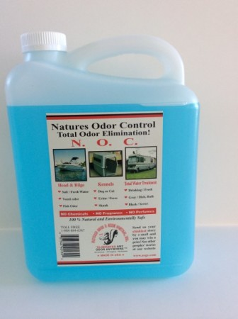 Nature's answer to odor control problems without the use of chemicals.