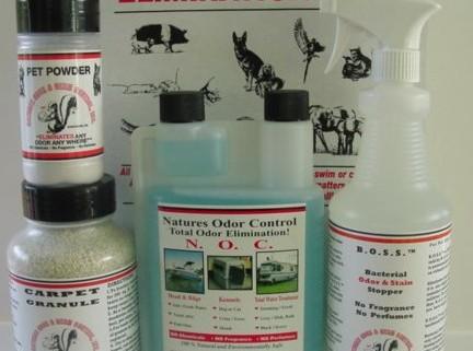 Pet Odor Elinination Kit - Four Products